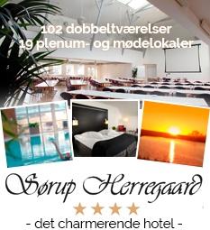 Sørup Herregård ny forside 2019